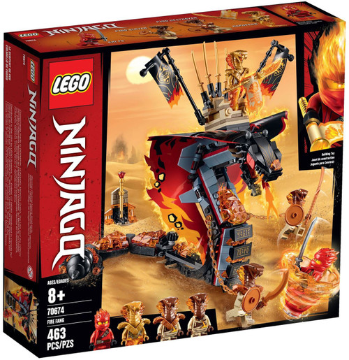 LEGO Ninjago Fire Fang Set #70674