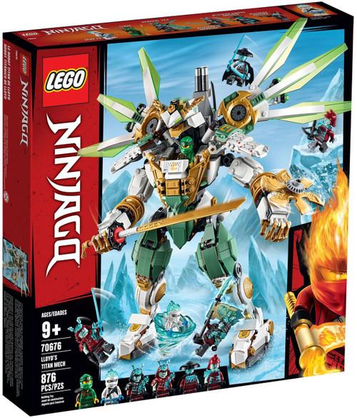 LEGO Ninjago Lloyd's Titan Mech Set #70676