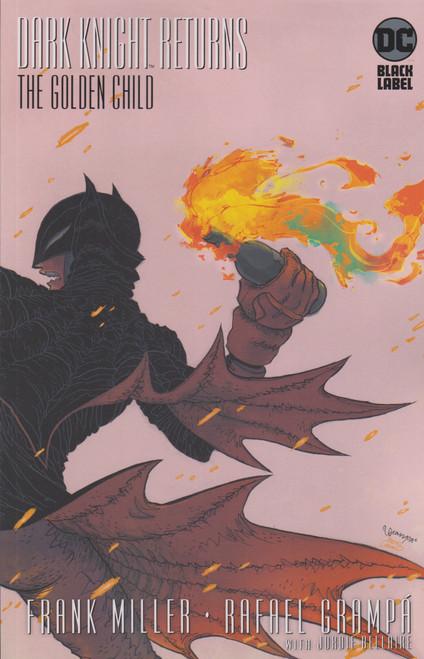 DC Dark Knight Returns #1 The Golden Child Comic Book [Rafael Grampa Variant Cover]