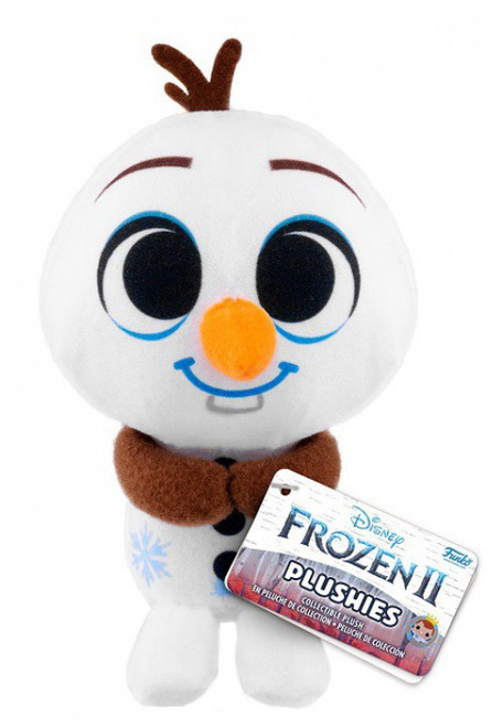 Funko Disney Frozen 2 Plushies Olaf 4-Inch Collectible Plush Figure (Pre-Order ships January)