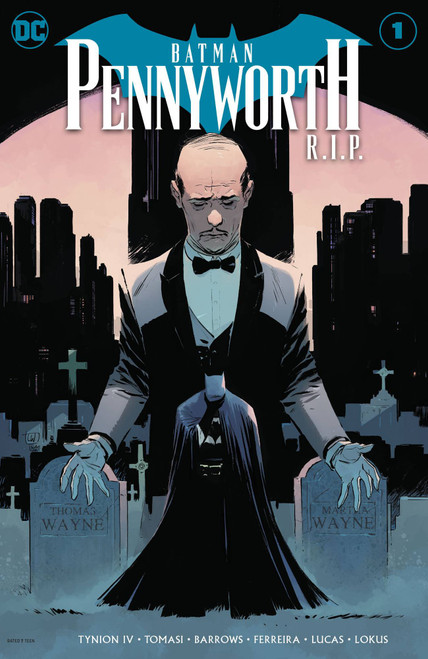 DC Batman #1 RIP Pennyworth Comic Book