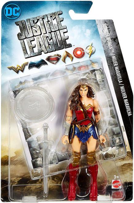 DC Justice League Movie Wonder Woman Action Figure [Loose]
