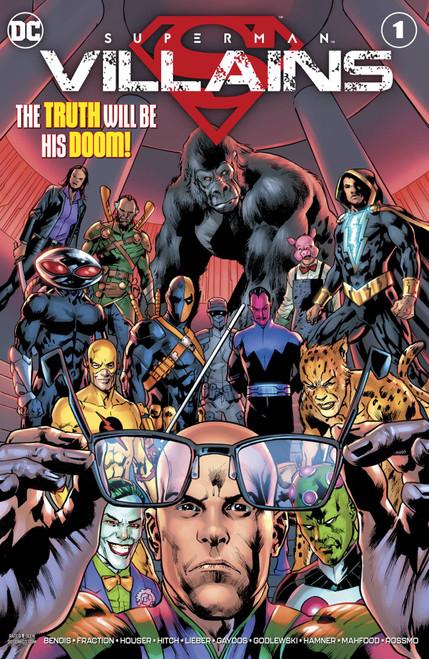 DC Superman Villains #1 Comic Book