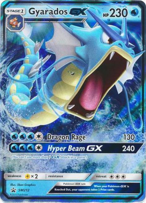 Pokemon Sun & Moon Promo Ultra Rare Gyarados GX SM212