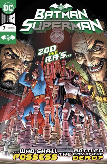 DC Batman Superman #7 Comic Book