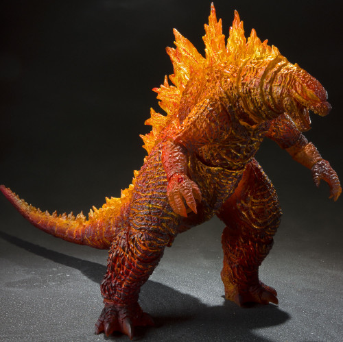 King of the Monsters S.H. Monsterarts Burning Godzilla Action Figure [King of the Monsters]