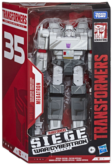 Transformers Generations Siege: War for Cybertron Trilogy Megatron Exclusive Voyager Action Figure WFC-S66 [Classic Animation]