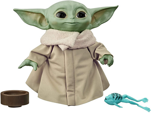 Star Wars The Mandalorian The Child (Baby Yoda) 7.5-Inch Talking Plush