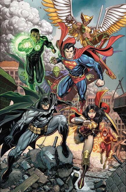 DC Justice League #40 Comic Book [Arthur Adams Variant Cover]
