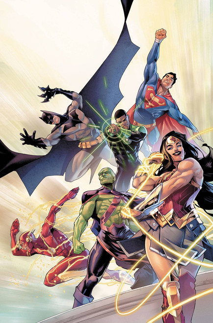 DC Justice League #41 Comic Book [Jamal Campbell Variant Cover]