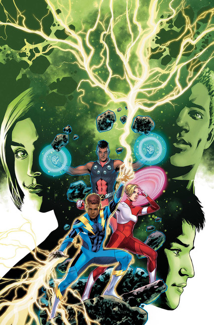 DC Legion of Super Heroes #4 Comic Book