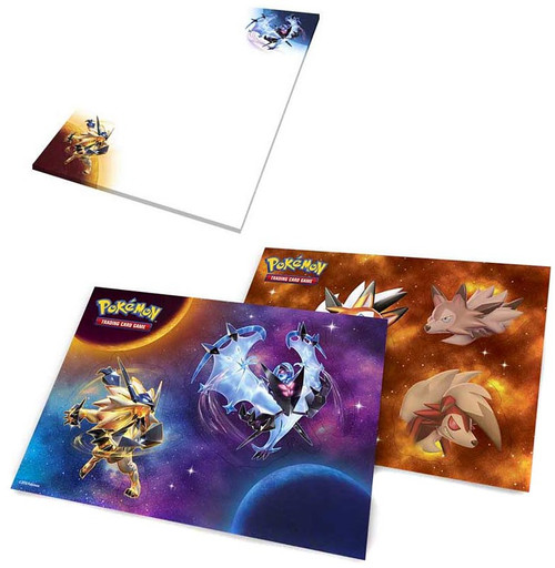 Pokemon Trading Card Game 2018 Collector's Chest Notepad & Sticker Set