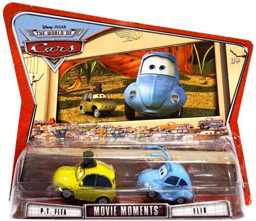 Disney / Pixar Cars The World of Cars Movie Moments Flik & PT Flea Diecast Car 2-Pack [Damaged Package]
