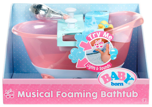 Baby Born Musical Foaming Bathtub Playset [Damaged Package]
