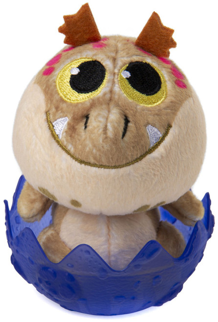 How to Train Your Dragon The Hidden World Baby Meatlug 3-Inch Egg Plush [Purple]