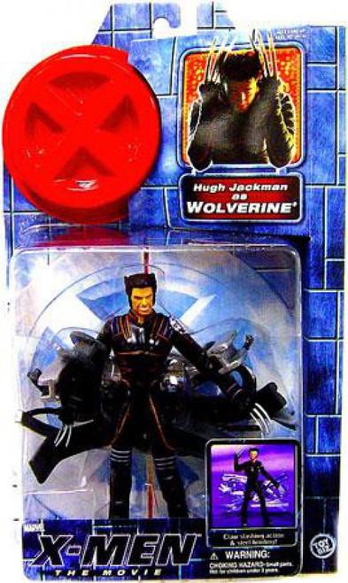 X-Men The Movie Hugh Jackman as Wolverine Action Figure [Damaged Package]