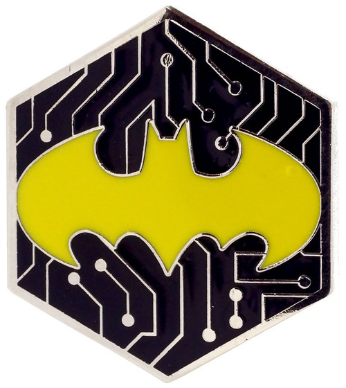Funko DC Batman 80th Batman Exclusive 1.5-Inch Pin [Gamer, Yellow]