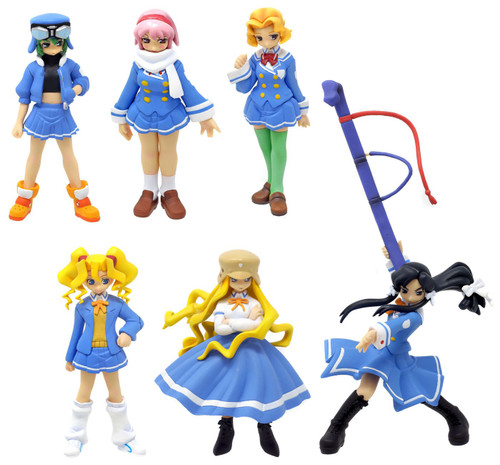 Story Image Figure Kujibiki Unbalance Set of 6 PVC Figures