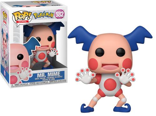 Funko Pokemon POP! Games Mr. Mime Vinyl Figure