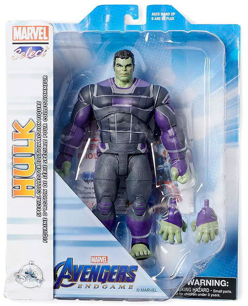 Avengers Endgame Marvel Select Hulk Action Figure [Collector Edition]
