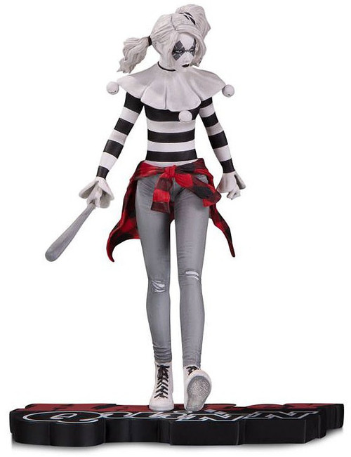 Batman Harley Quinn Red, White & Black Harley Quinn 7-Inch Statue [Steve Pugh] (Pre-Order ships March)