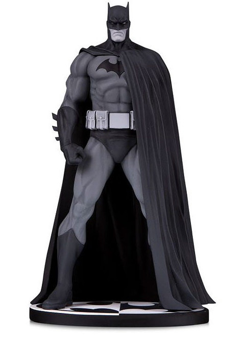 DC Batman Black & White Batman Action Figure [Jim Lee 2020 Version] (Pre-Order ships November)