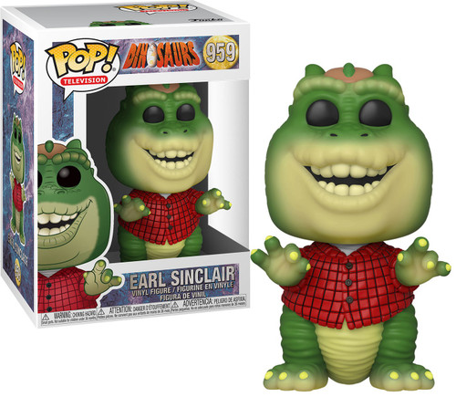 Funko Dinosaurs POP! TV Earl Sinclair Vinyl Figure