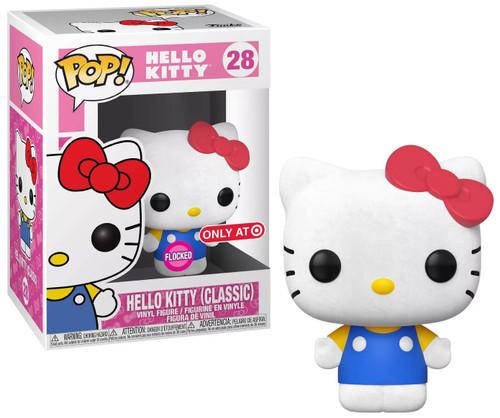 Funko POP! Sanrio Hello Kitty Exclusive Vinyl Figure #28 [Classic, Flocked]