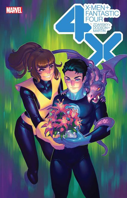 Marvel X-Men & Fantastic Four #1 of 4 Comic Book [Meghan Hetrick Flower Variant Cover]