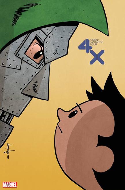 Marvel X-Men & Fantastic Four #2 of 4 Comic Book [Chris Eliopoulos Variant Cover]