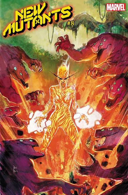 Marvel Comics New Mutants #8 Comic Book