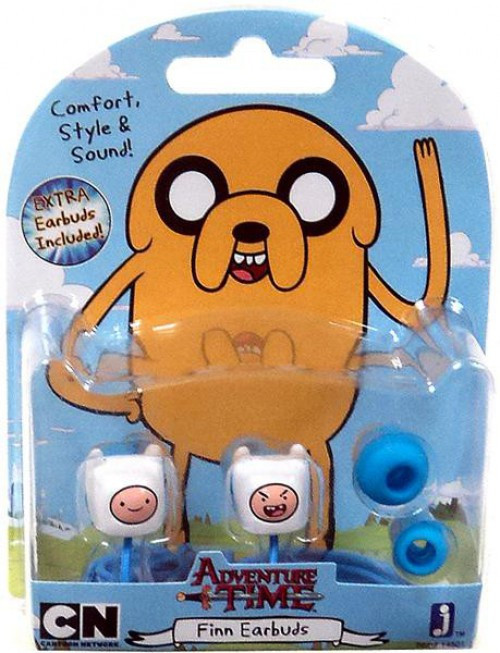 Adventure Time Finn Earbuds [Damaged Package]