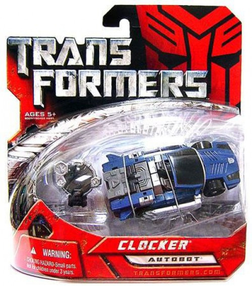 Transformers Movie Basic Clocker Exclusive Action Figure [Damaged Package]