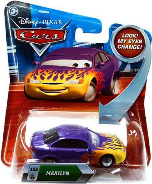 Disney / Pixar Cars Lenticular Eyes Series 2 Marilyn Diecast Car [Damaged Package]