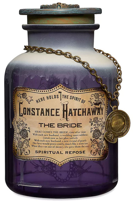 Disney Haunted Mansion Host a Ghost Constance Hatchaway Exclusive Spirit Jar [The Bride]