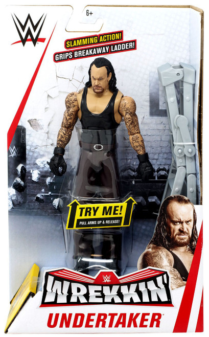 WWE Wrestling Wrekkin' Undertaker Action Figure [Damaged Package]