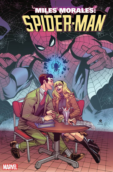 Marvel Miles Morales Spider-Man #15 Comic Book [Nick Bradshaw Gwen Stacy Variant Cover]