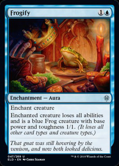 MtG Throne of Eldraine Uncommon Foil Frogify #47