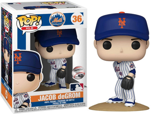 Funko MLB New York Mets POP! Sports Baseball Jacob deGrom Vinyl Figure