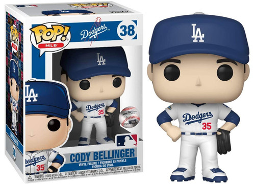 Funko MLB Los Angeles Dodgers POP! Sports Baseball Cody Bellinger Vinyl Figure #38