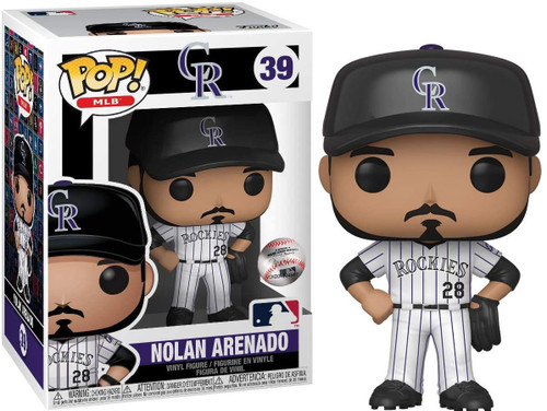 Funko MLB Colorado Rockies POP! Sports Baseball Nolan Arenado Vinyl Figure #39