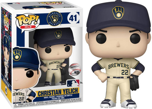Funko MLB Milwaukee Brewers POP! Sports Baseball Christian Yelich Vinyl Figure