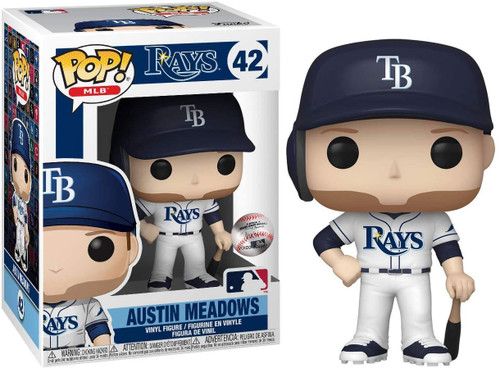 Funko MLB Tampa Bay Rays POP! Sports Baseball Austin Meadows Vinyl Figure