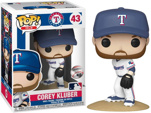 Funko MLB Texas Rangers POP! Sports Baseball Corey Kluber Vinyl Figure