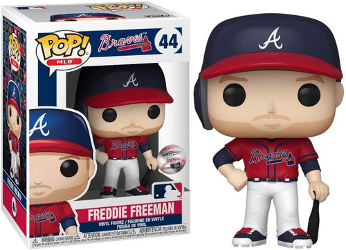 Funko MLB Atlanta Braves POP! Sports Baseball Freddie Freeman Vinyl Figure #44