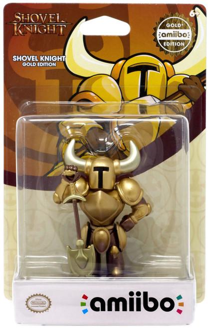 Nintendo Amiibo Shovel Knight Mini Figure [Gold Edition]