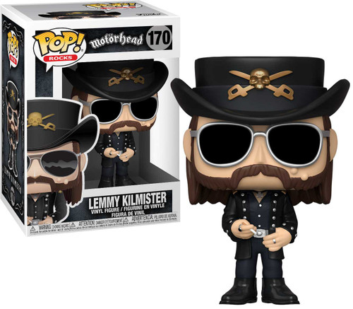 Funko Motorhead POP! Rocks Lemmy Kilmister Vinyl Figure #170 [Sunglasses]