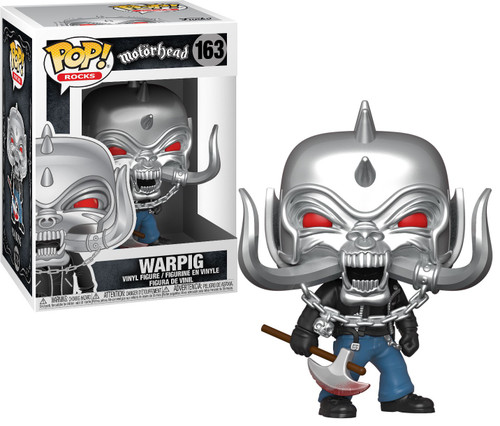 Funko Motorhead POP! Rocks Warpig MT Vinyl Figure #163