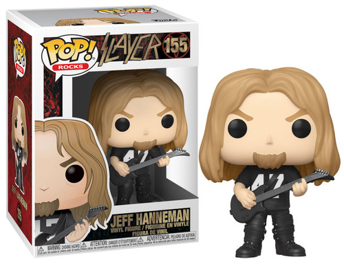 Funko Slayer POP! Rocks Jeff Hanneman Vinyl Figure #155