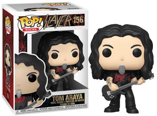 Funko Slayer POP! Rocks Tom Araya Vinyl Figure #156